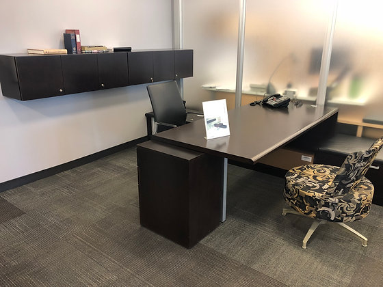 """Steelcase """"Elective Elements"""" office suite"""