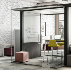 Freestanding Enclosed Solution | IRYS pod | Steelcase | USA