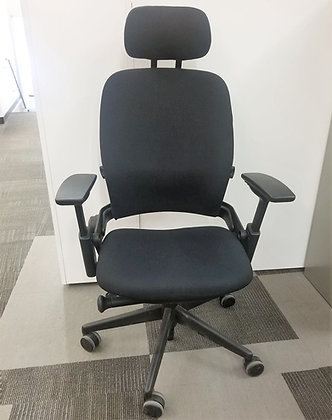 "Steelcase ""Leap"" Task Chair with Headrest"