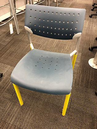"""Keilhauer """"Also"""" Armless Stacking Chair"""