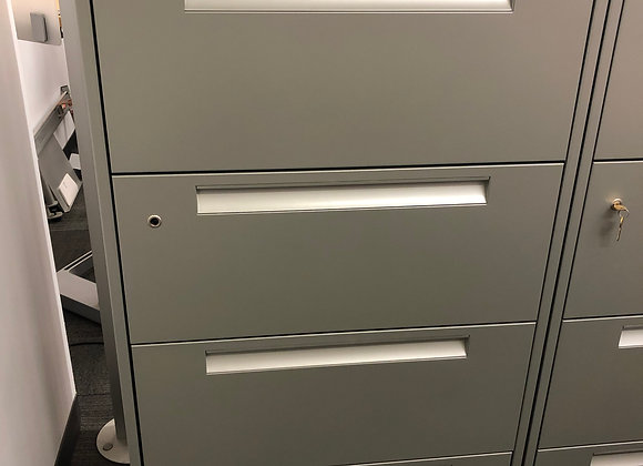 "Steelcase 4H Lateral File 30""Wx18""Dx52""H"