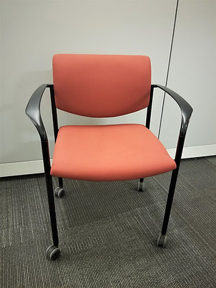 """Steelcase """"Player"""" Guest Chair with Arms"""