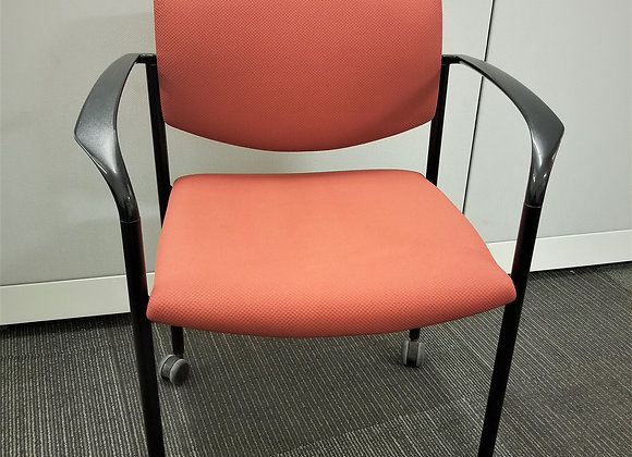 "Steelcase ""Player"" Guest Chair with Arms"