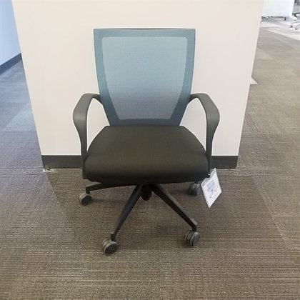 """Via Seating """"Run"""" Mesh Back Conference Chair"""