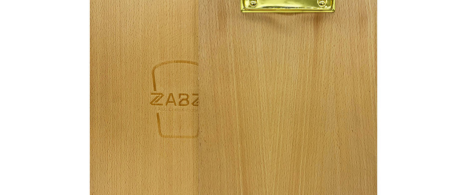 木製夾板 Wooden Clipboard