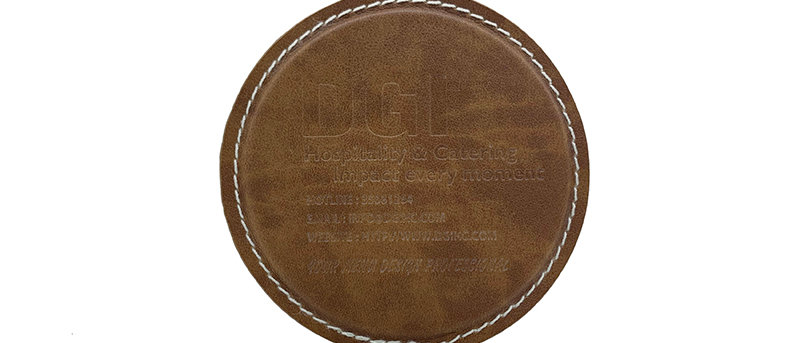 皮製杯墊Leather Cup Mat