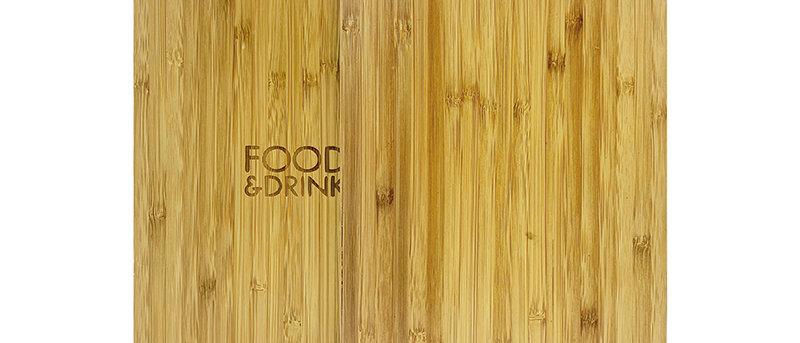 竹製木夾板 Bamboo Clipboard
