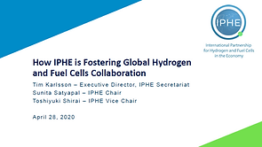 Slide Cover of IPHE at H2IQ April 2020.P