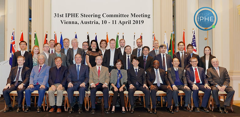 31st IPHE SC Meeting in Vienna April 201