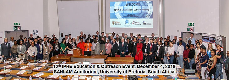 12th IPHE Education & Outreach Event Pre