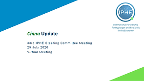China IPHE Country Update Presentation J