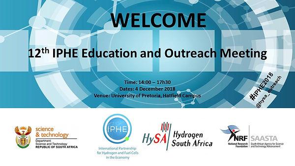 IPHE Welcome Edu Outreach Banner Slide.j