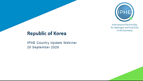 Cover Slide Korea Country Update 28 Sept