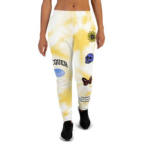 Women's Lacquer Jogger - Yellow Tie Dye