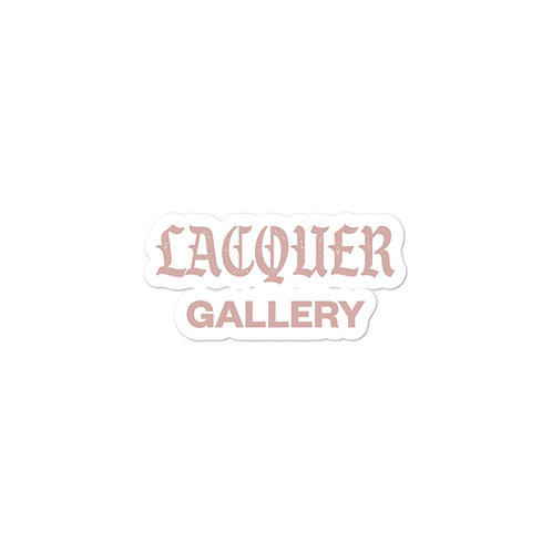 Lacquer Gallery Sticker