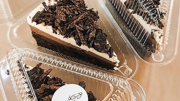 Triple Chocolate Mousse Cake(Slice)