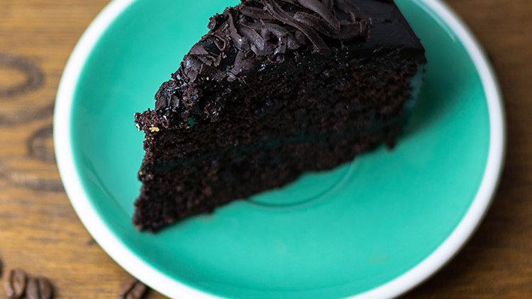 Choco Moist Cake Slice