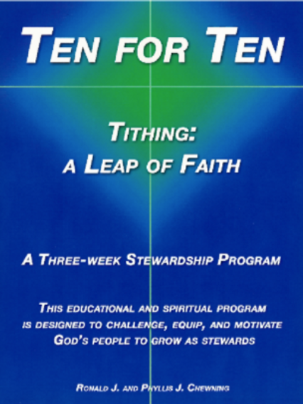 Ten for Ten—Tithing: A Leap of Faith