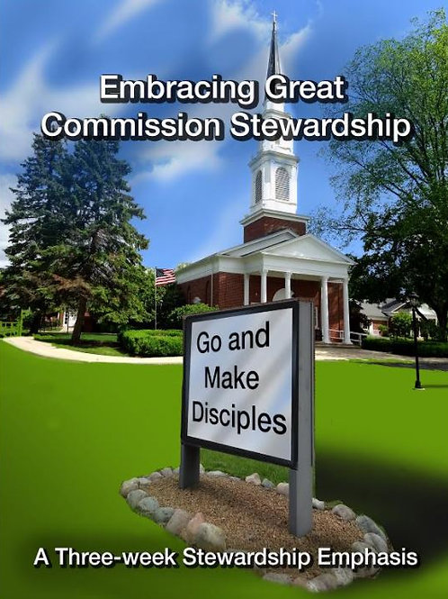 Embracing Great Commission Stewardship
