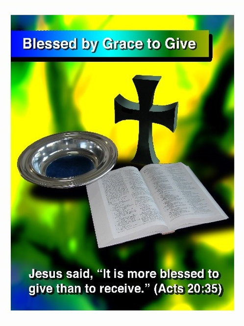 Blessed by Grace to Give