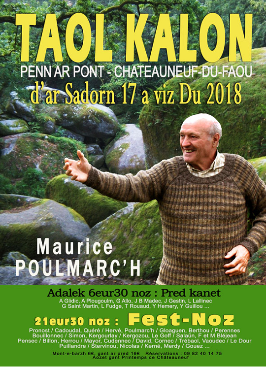 Fest noz Maurice Chateauneuf