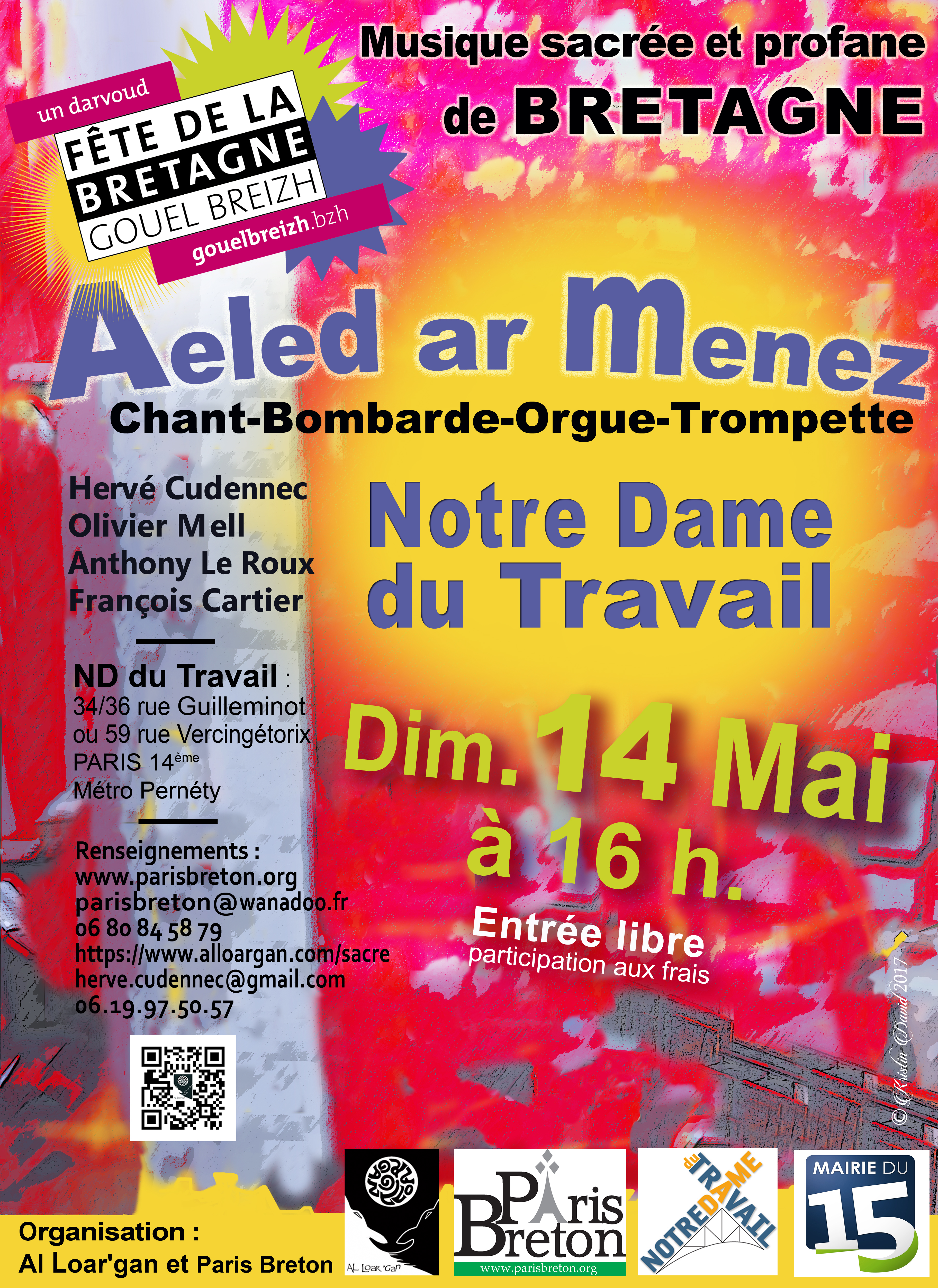 Concert Aeled ar Menez_ND Travail_14 mai 2017