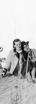 אבא ואמא בחולות ראשון לציון, 1934