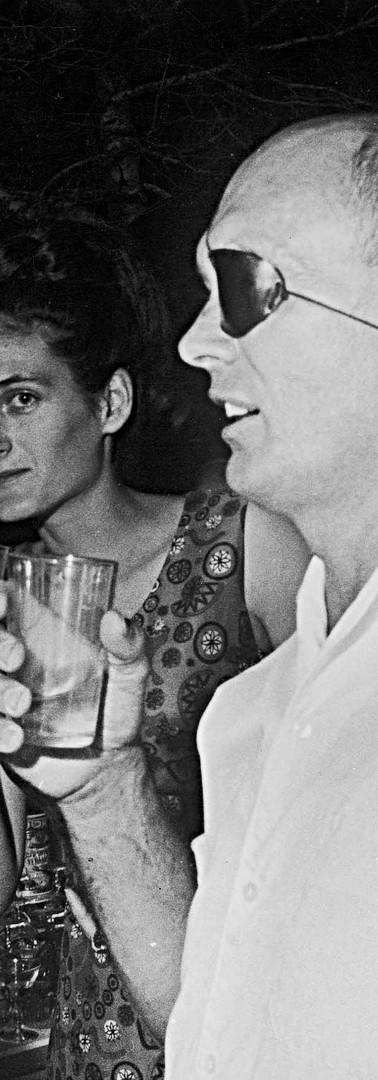 מרדכי בר און עם משה דיין שר הביטחון, 1967