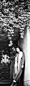 עם אראלה בווילה זיו בתל מונד, 1949