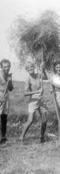 מחנה עבודה בקיבוץ דן, 1942