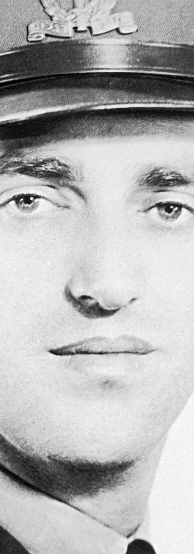 מרדכי בר און פורטרט לפרסומת עבור ה־U.J.A, 1959