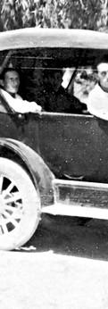 אבא נוהג את אמא בפורד הישנה, 1934