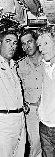 מארח את דני קיי בבטן צוללת, יוני, 1967