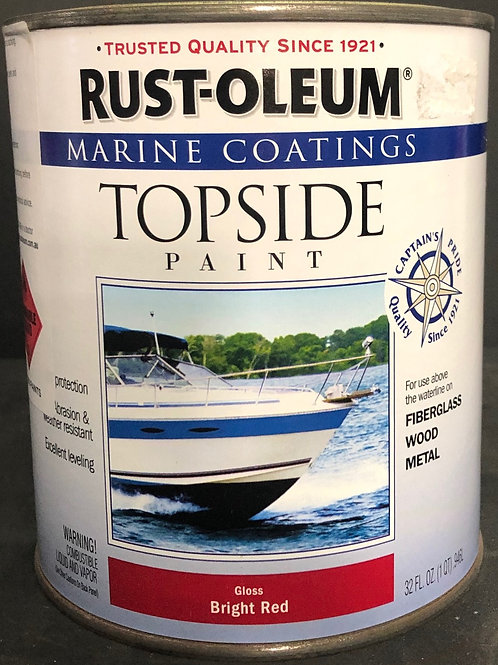 MARINE PAINT GLOSS BRIGHT RED