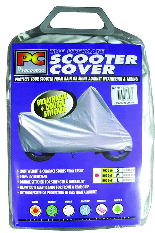 SCOOTER COVER - MEDIUM POLYESTER 209X70X134CM
