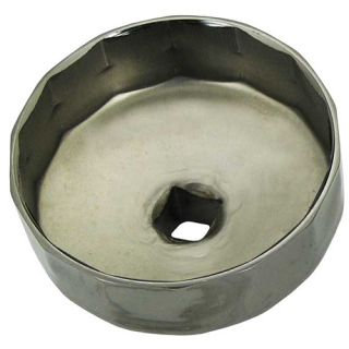 CUP STYLE OIL FILTER REMOVER - 74mm 8F