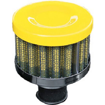 BREATHER FILTER - YELLOW 9MM PERFORMANCE