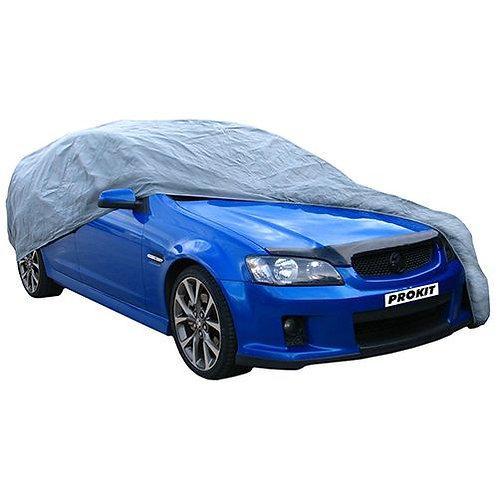 "CAR COVER - MEDIUM BREATHABLE 70G 180"" x 65"" x 47"" (457 x 165 x 119MM)"