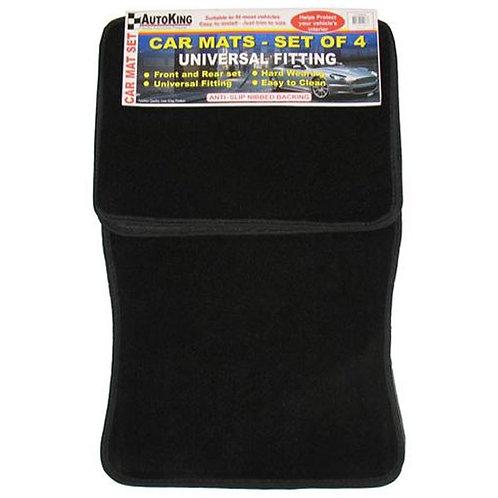 Car Mats Set of 4 Black