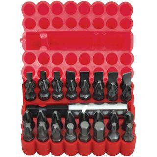 BITS SET - 33pc WITH MAGNETIC BITS HOLDER