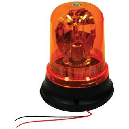 REVOLVING LIGHT - SCREW ON TYPE AMBER 12V