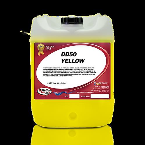 DD50 COOLANT YELLOW