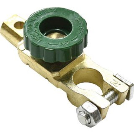 BATTERY TERMINAL - 1pc BRASS ISOLATER TYPE