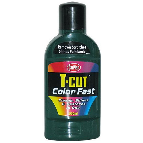 01 T-Cut Colour Fast Dark Green 500ml - CARPLAN