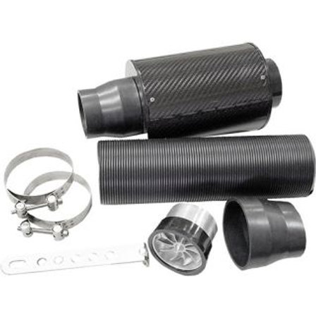 AIR FILTER KIT - CARBON WITH FLEXIBLE INLET PIPE