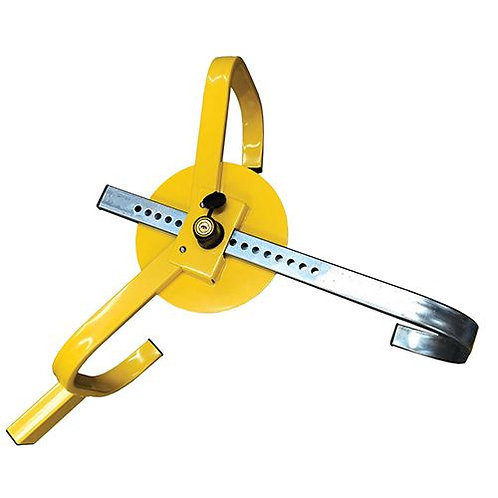 WHEEL CLAMP - WITH PROTECTIVE DISC 13'' - 15''