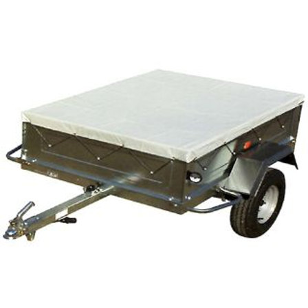 TRAILER COVER - 600D POLYESTER 183 x 244 x 8cm (6foot x 8foot x 3inch)