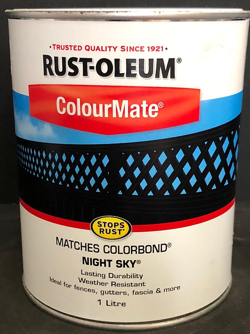 MATCHES COLORBOND COLOUR NIGHT SKY