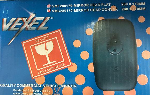 MIRROR HEAD CONVEX 280 * 170 MM