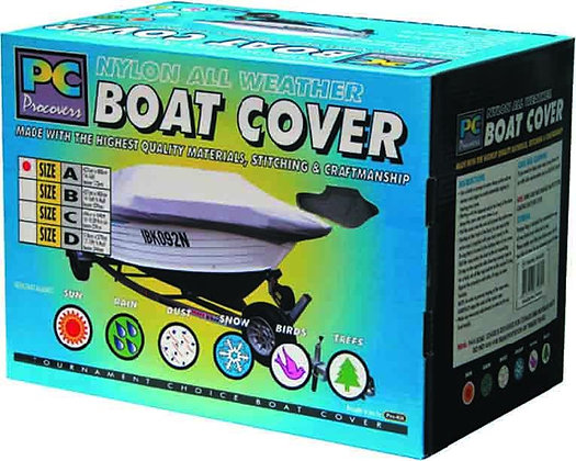 BOAT COVER - XL NYLON 17 -19FT X 96'' / 2.4M